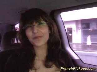 french Milf picked up for deep anal