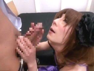 Exotic Japanese girl in Incredible /Futanari, Guy Fucks JAV clip