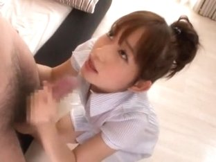 Exotic Japanese model Mika Osawa in Horny Swallow/Gokkun, Girlfriend JAV video