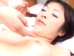 Hidden Webcam breasty massage for Fujiko