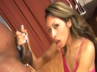 RawVidz Video: Black Cock Handjob And BJ
