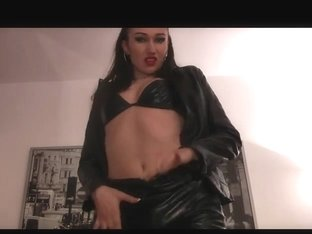 Leather Whore Teasing