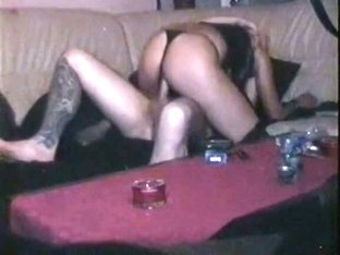 Riding shlong in thong hidden web camera