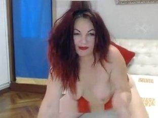 EroticEmma in red