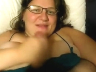 BBW Handjob #7 (On The Bed)