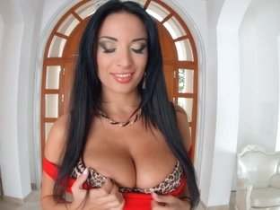 Primecups Anissa Kate has huge natural tits and gets analyzed before taking all that cum in her mo.