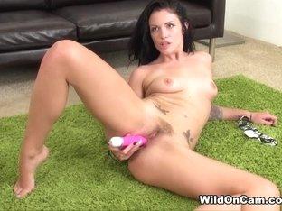 Horny pornstar Andy San Dimas in Exotic Solo Girl, Masturbation porn movie
