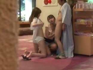 Exotic Japanese whore Nao Mizuki, Wakana Kinoshita, Rio Hamasaki in Hottest Threesomes, Cunnilingu.