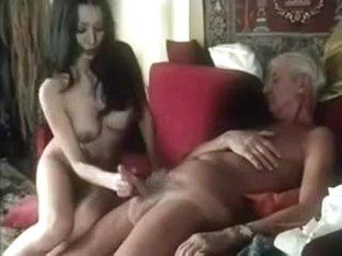 Retro Old vs Young sex scene