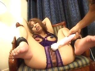 Hottest Japanese slut Haruka Sanada in Fabulous Facial, Handjobs JAV scene