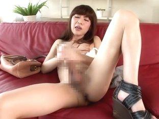 Best Japanese whore in Hottest /Futanari JAV video