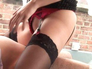 Crazy pornstar Tanya Tate in exotic big tits, blonde sex movie
