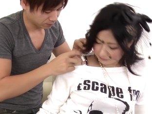 Incredible Japanese model Megumi Haruka in Exotic JAV uncensored Teen movie