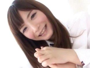 Exotic Japanese whore Rei Kiyomi in Incredible Threesomes, Fetish JAV clip
