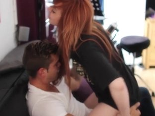 LUCIE MAKES PORN Milf Redhead Bondage