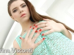 Primecups Marina Visconti loves hard anal action