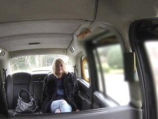 Real british taxi babe bentover and fucked