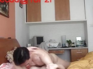 Asian hottie gets her hairy pie fucked on camera