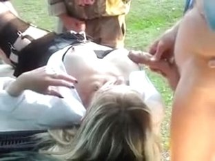 Golden-Haired mature I'd like to fuck is the village floozy