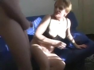 Mature amateur couple having sex