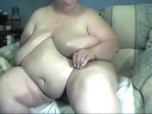 SSBBW granny masturbation