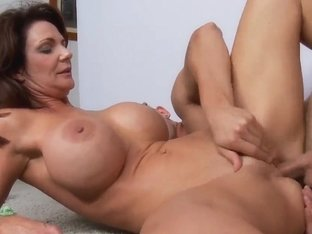 Danny Wylde loving to fuck the busty brunette cougar Deauxma