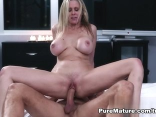 Horny pornstar Julia Ann in Exotic Blonde, MILF sex video