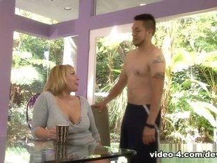 Exotic pornstar Mellanie Monroe in Fabulous Big Tits, Blonde porn scene