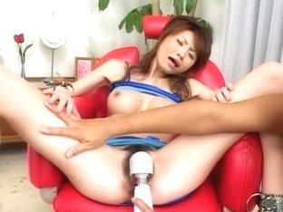 Hottest Japanese slut Maiko Ohshiro in Horny Dildos/Toys JAV video