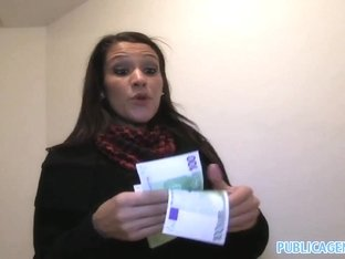 Fabulous pornstar in Amazing Brunette, Public xxx video