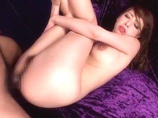 Fabulous Japanese girl Riho Hasegawa in Crazy Threesomes, Squirting/Shiofuki JAV movie