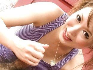 Hottest Japanese model Sayaka Tsuzi in Fabulous JAV uncensored Threesomes scene