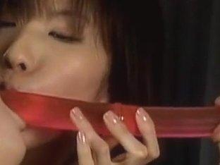 Riko lesbian teacher is a great spanker!