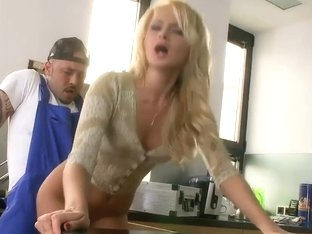 Ivana Sugar is banged by a thuggish plumber