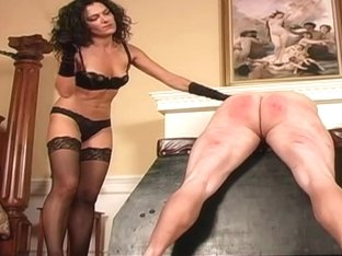 Caned by Mastix in Nylons