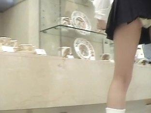 Hot asses shine when the girls bend over upskirt video