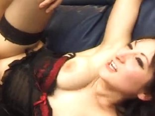 French Eva gets drilled by a big cock from behind