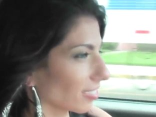 Handsome dude picked up by two hot girls Alexis Rain and Zasha