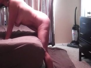 Cheating housewife lets the repair guy fuck her vaginall and anally