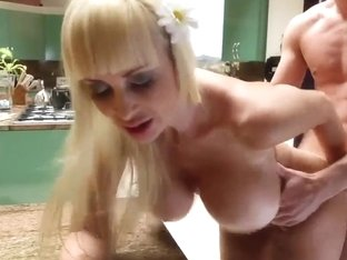 Remarkable milf with huge boobs shows all her skills