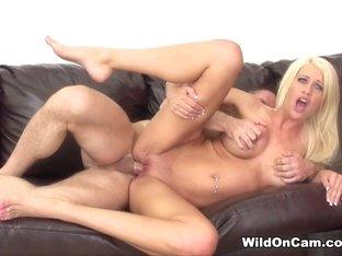 Hottest pornstar Riley Jenner in Amazing Cumshots, MILF sex movie