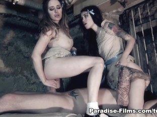 Exotic pornstars Samantha Bentley, Misha Cross in Crazy Fetish, European porn video