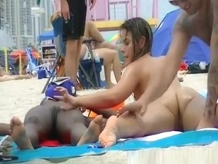 Nudist ebony and big tits nudist at beach