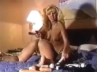 Horny vintage lesbian whores dildo fucking
