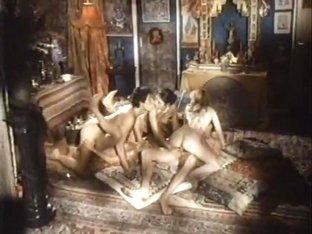 Amazing masturbation vintage video with Becky Savage and Seka