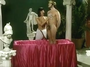 Caesar and his Blowjob Servant Girl