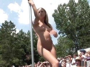 Best pornstar in fabulous big tits, striptease sex movie