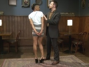 Incredible bdsm, fetish adult clip with amazing pornstars Nikki Darling and Lee Harrington from Ki.