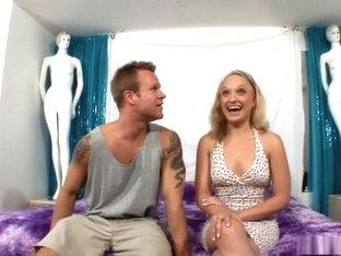 Best pornstar Breanna Fox in exotic blonde, tattoos sex scene