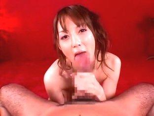 Incredible Japanese chick Kaede Fuyutsuki in Horny Handjobs, Facial JAV video
